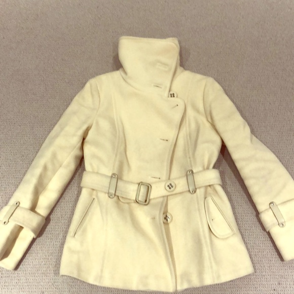 Mackage Jackets & Blazers - Mackage Creme Coat